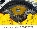 drive gear and bearings ... | Shutterstock . vector #328459391