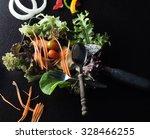 mixed vegetables   clean food... | Shutterstock . vector #328466255