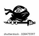 Black Superhero Mask Turtle...