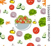 various vegetables icons set... | Shutterstock .eps vector #328499051
