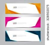 vector design banner background. | Shutterstock .eps vector #328502075