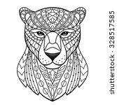 panther. vector illustration...   Shutterstock .eps vector #328517585