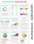 set of infographic presentation ... | Shutterstock .eps vector #328518185
