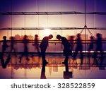 business people respect... | Shutterstock . vector #328522859