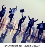 business people collaboration... | Shutterstock . vector #328525634