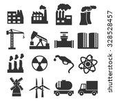 industry icon set | Shutterstock .eps vector #328528457