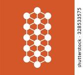 molecule icon. | Shutterstock .eps vector #328533575