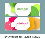 creative colorful abstract... | Shutterstock .eps vector #328546529