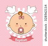 baptism invitation design ... | Shutterstock .eps vector #328562114