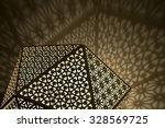 arabic lights with shadows... | Shutterstock . vector #328569725