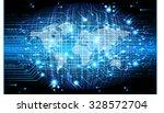 dark blue color light abstract...   Shutterstock .eps vector #328572704