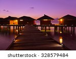 Water Bungalows On Maldives...
