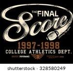 tee graphics college graphics... | Shutterstock .eps vector #328580249