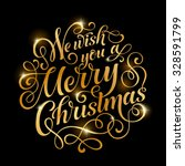vector golden text on black... | Shutterstock .eps vector #328591799