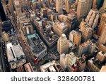new york city manhattan aerial... | Shutterstock . vector #328600781