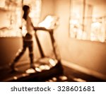 vintage tone blur image of cute ... | Shutterstock . vector #328601681