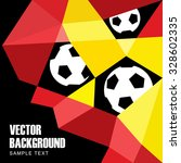 Polygon Soccer Football...