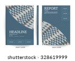 vector design for cover report  ... | Shutterstock .eps vector #328619999