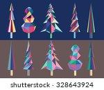 bright colored polygonal vector ...   Shutterstock .eps vector #328643924