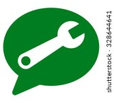 service message vector icon....   Shutterstock .eps vector #328644641