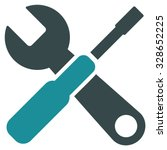 tools vector icon. style is... | Shutterstock .eps vector #328652225