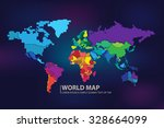 world map | Shutterstock .eps vector #328664099