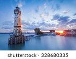 Lindau  Germany   Lighthouse A...