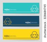 abstract creative concept... | Shutterstock .eps vector #328684745