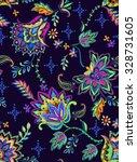seamless bohemian pattern.... | Shutterstock . vector #328731605