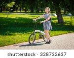 teen student girl or young... | Shutterstock . vector #328732637