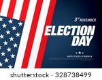 election day banner | Shutterstock .eps vector #328738499