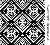 black and white color tribal... | Shutterstock .eps vector #328762949