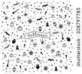 pattern for halloween | Shutterstock .eps vector #328797785
