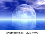 full moon | Shutterstock . vector #3287991