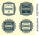 retro vintage insignias or... | Shutterstock .eps vector #328799951
