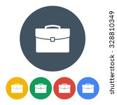 briefcase icons set colorful on ... | Shutterstock .eps vector #328810349