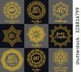oriental high quality logo... | Shutterstock .eps vector #328816799
