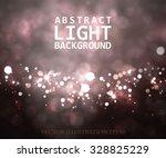 festive light background with... | Shutterstock .eps vector #328825229