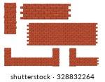 illustration of set of red...   Shutterstock .eps vector #328832264
