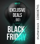 illustration of black friday... | Shutterstock .eps vector #328838741