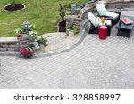 Decorative Brick Paving On An...