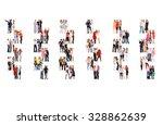 office culture people diversity  | Shutterstock . vector #328862639