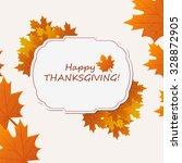 thanksgiving background. eps 10.   Shutterstock .eps vector #328872905