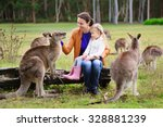 Young Family Of Mother And...