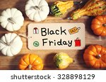 black friday message with... | Shutterstock . vector #328898129