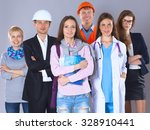 a group of people of different... | Shutterstock . vector #328910441