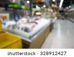 supermarket store blur...   Shutterstock . vector #328912427