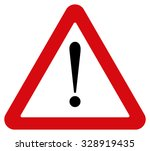 attention sign | Shutterstock . vector #328919435