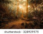 fantasy tropical jungle forest... | Shutterstock . vector #328929575
