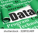 data concept  black text data... | Shutterstock . vector #328931489